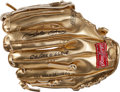 """Baseball Collectibles:Others, Pete Rose """"2X Gold Glove"""" Signed Mini Gold Glove...."""