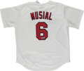 Baseball Collectibles:Uniforms, Stan Musial Signed St. Louis Cardinals Jersey....