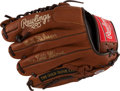 "Baseball Collectibles:Others, Bob Gibson ""9X Gold Glove"" Signed Glove...."