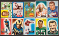 Football Cards:Lots, 1952 - 1960 Topps & Bowman Football Stars and HoFers Card Collection (12). ...