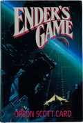 Books:Science Fiction & Fantasy, Orson Scott Card. Ender's Game. [New York]: Tom DohertyAssociates, 1985. First American edition, first printing...