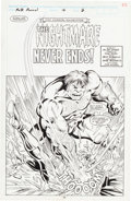 Original Comic Art:Splash Pages, Dan Reed and Jeff Albrecht Incredible Hulk Annual #16 StoryPage 2 Original Art (Marvel, 1990)....