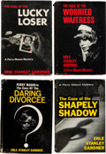 Books:Mystery & Detective Fiction, Erle Stanley Gardner. Group of Four Signed and Inscribed FirstEdition Perry Mason Books. All are signed by the author with ...(Total: 4 Items)