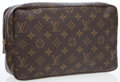 Luxury Accessories:Accessories, Louis Vuitton Classic Monogram Canvas Cosmetic Case. ...