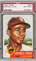 Baseball Cards:Singles (1950-1959), 1953 Topps Satchell Paige #220 PSA NM-MT 8....