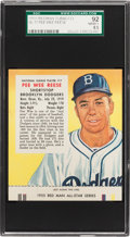 Baseball Cards:Singles (1950-1959), 1955 Red Man Pee Wee Reese #17N SGC 92 NM/MT+ 8.5 - Pop Two, None Higher! ...
