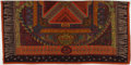 "Luxury Accessories:Accessories, Hermes Red, Orange & Green ""Sur un Tapis Volant,"" by AnnieFaivre Cashmere Scarf. ..."