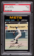 Baseball Cards:Singles (1970-Now), 1971 Topps Nolan Ryan #513 PSA NM 7....