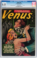Golden Age (1938-1955):Horror, Venus #19 (Timely, 1952) CGC FN 6.0 Off-white pages....