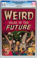 Golden Age (1938-1955):Science Fiction, Weird Tales of the Future #2 (Aragon, 1952) CGC FN+ 6.5 Cream tooff-white pages....