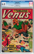 Golden Age (1938-1955):Horror, Venus #16 (Timely, 1951) CGC FN 6.0 Off-white to white pages....