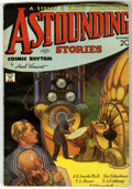Pulps:Science Fiction, Astounding Stories (V11#3) Jan 1933 (Street & Smith, 1933)Condition: GD/VG. Howard Brown cover art. Trimmed on right andbo...