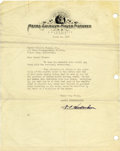 Movie/TV Memorabilia:Memorabilia, MGM Agreement and Court Order Letter to Buckwheat. A fascinatingpacket that includes a three-page court order, dated Februa...(Total: 1 Item)