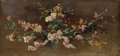 Fine Art - Painting, European:Modern  (1900 1949)  , PAUL COLIN (French 1892-1985). Study of a Bouquet ofFlowers. Oil on wood panel. 5 x 10-1/2 inches (12.7 x 26.7 cm).Sig...