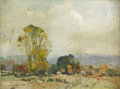 Fine Art - Painting, European:Other , CONTINENTAL SCHOOL (Twentieth Century). Landscape. Oil onboard. 12 x 16 inches (30.5 x 40.6 cm). Signed at lower right ...