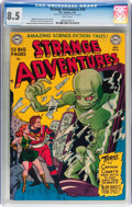 Golden Age (1938-1955):Science Fiction, Strange Adventures #10 (DC, 1951) CGC VF+ 8.5 White pages....
