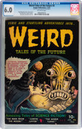 Golden Age (1938-1955):Horror, Weird Tales of the Future #5 (Aragon, 1953) CGC FN 6.0 Off-whitepages....