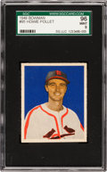 Baseball Cards:Singles (1940-1949), 1949 Bowman Howie Pollett #95 SGC 96 Mint 9 - Pop One, Highest SGCon Record! ...