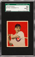 Baseball Cards:Singles (1940-1949), 1949 Bowman Phil Cavarretta #6 SGC 92 NM/MT+ 8.5 - Pop One, HighestSGC on Record! ...