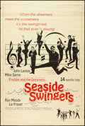 "Movie Posters:Rock and Roll, Seaside Swingers (Embassy, 1965). Poster (40"" X 60""). Rock andRoll.. ..."