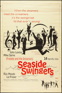 """Seaside Swingers (Embassy, 1965). Poster (40"""" X 60""""). Rock and Roll"""