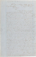 Autographs:Military Figures, [Battle of Murfreesboro]. Confederate Battle Report,...
