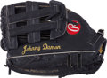 Baseball Collectibles:Others, Circa 2000's Johnny Damon Game Used Fielder's Glove. ...