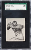 Football Cards:Singles (Pre-1950), 1948 Bowman Mike Micka #35 SGC 96 Mint 9 - Pop One, Single HighestSGC Example! ...
