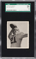Football Cards:Singles (Pre-1950), 1948 Bowman Jim Hardy #56 SGC 96 Mint 9 - Pop One, Single HighestSGC Example! ...