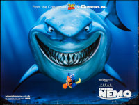 "Finding Nemo and Other Lot (Disney, 2003). British Quad (30"" X 40""), and One Sheet (27"" X 40"") DS. A..."