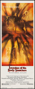"Movie Posters:Science Fiction, Invasion of the Body Snatchers (United Artists, 1978). Insert (14"" X 36"") Style A. Science Fiction.. ..."