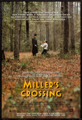 """Movie Posters:Crime, Miller's Crossing (20th Century Fox, 1990). One Sheet (27"""" X 41"""")Advance. Crime.. ..."""