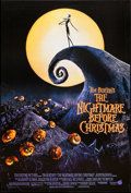 """Movie Posters:Animation, The Nightmare Before Christmas (Touchstone, 1993). One Sheet (27"""" X40""""). Animation.. ..."""