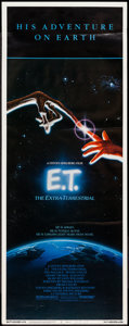 """Movie Posters:Science Fiction, E.T. The Extra-Terrestrial (Universal, 1982). Insert (14"""" X 36"""")& Mini Lobby Cards (4) (8"""" X 10""""). Science Fiction.. ...(Total: 5 Items)"""