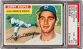 Baseball Cards:Singles (1950-1959), 1956 Topps Sandy Koufax, Gray Back #79 PSA NM-MT+ 8.5....