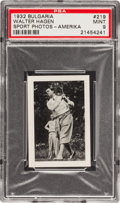 "Golf Cards:General, 1932 Bulgaria ""Sport Photos-Amerika"" Walter Hagan #219 PSA Mint 9 - Pop Six! ..."