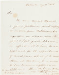 Autographs:Military Figures, Stephen Decatur Autograph Letter of Introduction Signed.... (Total: 2 )