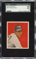 Baseball Cards:Singles (1940-1949), 1949 Bowman Frank Shea #49 SGC 96 Mint 9 - Pop Two, Highest! ...