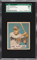 Baseball Cards:Singles (1940-1949), 1949 Bowman John Kerr #186 SGC 96 Mint 9 - Pop One, Highest SGC onRecord! ...
