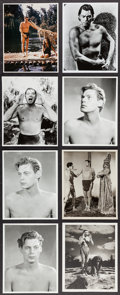 "Movie Posters:Adventure, Johnny Weissmuller as Tarzan (MGM,1930s-1940s). Reprint Portraitand Scene Photos (26) (8"" X 10""). Adventure.. ... (Total: 26 Items)"
