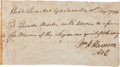 Autographs:U.S. Presidents, [Northwest Indian War]. William Henry Harrison Autograph DocumentSigned...