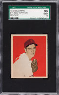 Baseball Cards:Singles (1940-1949), 1949 Bowman Ned Garver #15 SGC 96 Mint 9 - Pop One, Highest SGC onRecord! ...