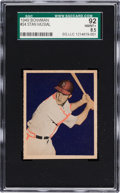 Baseball Cards:Singles (1940-1949), 1949 Bowman Stan Musial, Tan Back #24 SGC 92 NM/MT+ 8.5 - Only One Higher! ...