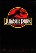 "Movie Posters:Science Fiction, Jurassic Park (Universal, 1992). One Sheet (27"" X 40""). SS Advance.Science Fiction.. ..."