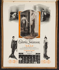 """Movie Posters:Miscellaneous, Paramount Exhibitor Book (Paramount, 1923-1924). Exhibitor Calendar (11.25"""" X 14""""). Miscellaneous.. ..."""