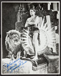 "Movie Posters:Adventure, James Pierce in Tarzan and the Golden Lion (FBO). AutographedReprint Photo (8"" X 10""). Adventure.. ..."