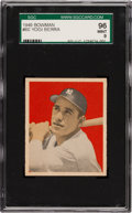 Baseball Cards:Singles (1940-1949), 1949 Bowman Yogi Berra #60 SGC 96 Mint 9 - Pop Two, Highest SGCGrade. ...