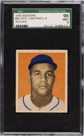 Baseball Cards:Singles (1940-1949), 1949 Bowman Roy Campanella #84 SGC 96 Mint 9 - None Higher! ...