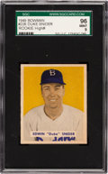 Baseball Cards:Singles (1940-1949), 1949 Bowman Duke Snider #226 SGC 96 Mint 9 - Pop Two, HighestGraded Available! ...