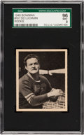 Football Cards:Singles (Pre-1950), 1948 Bowman Sid Luckman #107 SGC 96 Mint 9 - Pop One, The HighestSGC Example Known! ...